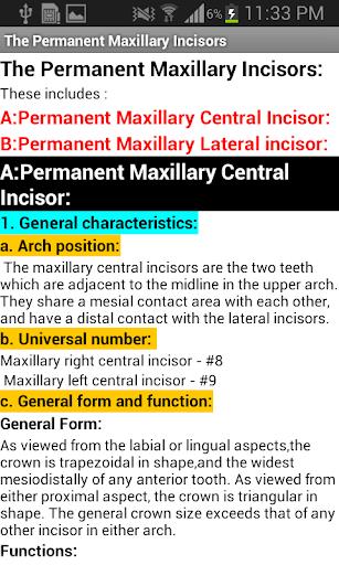 玩免費醫療APP|下載Tooth Morphology Free app不用錢|硬是要APP