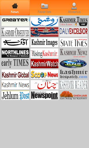 Kashmir Newspapers.