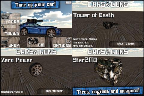 Cars And Guns 3D - screenshot