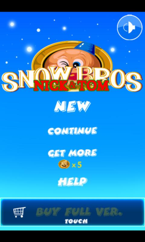 Snow Bros - screenshot