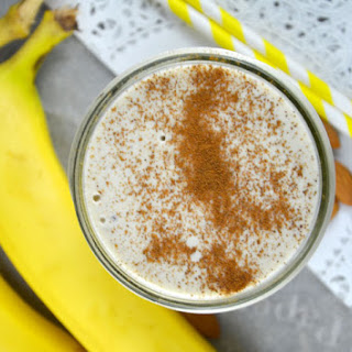 Coconut Banana Cream Pie Protein Smoothie