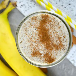 Coconut Banana Cream Pie Protein Smoothie