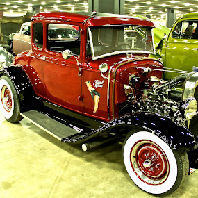 Roadster by Kimberly Davidson - Transportation Automobiles ( classic cars, ford roadster, roadster, antique ford roadsters,  )