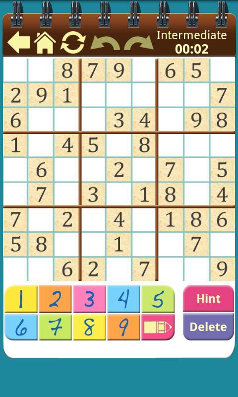 Sudoku Shelf- screenshot