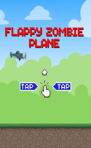 Flappy Zombie Plane