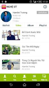 Keeng.vn: Music social network - screenshot thumbnail