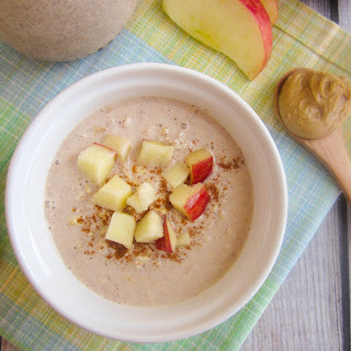 Peanut Butter Apple Pie Overnight Oats