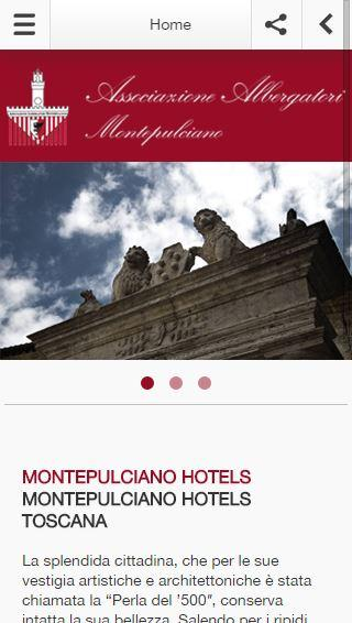 Montepulciano Hotels- screenshot