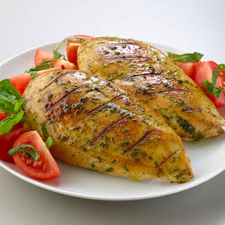 Pesto Rubbed Chicken.