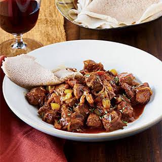 Ethiopian Spiced Lamb Stew.