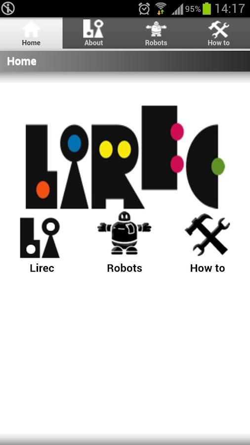 LIREC LEGACY- screenshot