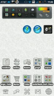 Transparent Ice Theme- screenshot thumbnail