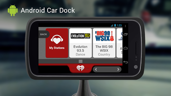iHeartRadio for Auto - screenshot thumbnail