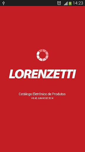Aplicativo Lorenzetti 2.0