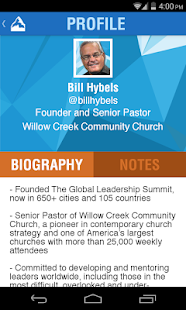 The Global Leadership Summit - screenshot thumbnail