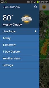 South Texas Weather Authority- screenshot thumbnail