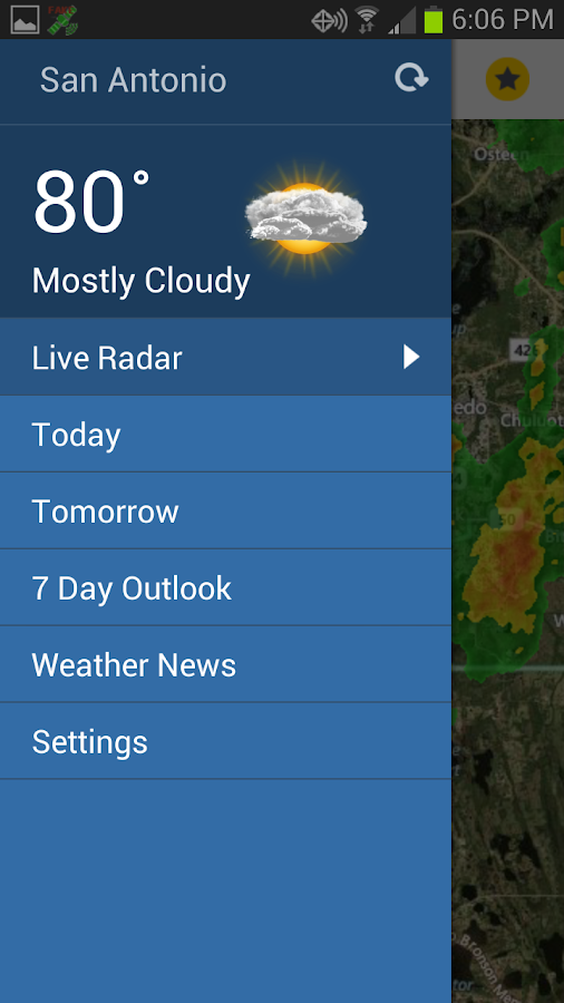 South Texas Weather Authority- screenshot