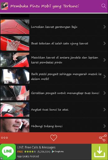 Membuka Pintu Mobil Terkunci