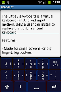 Little Big Keyboard - screenshot thumbnail