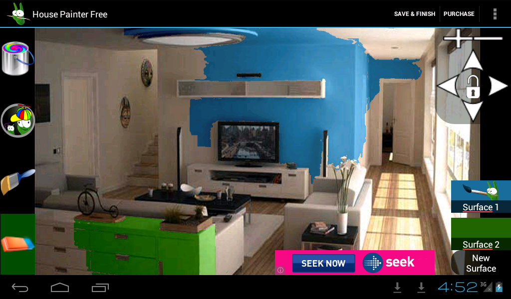 House painter free demo android apps on google play for App for painting exterior of house