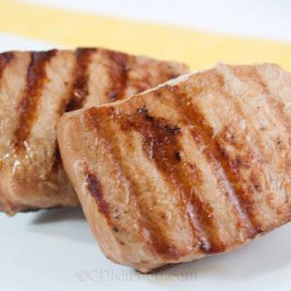 Beer And Sugar Glazed Pork Chops.