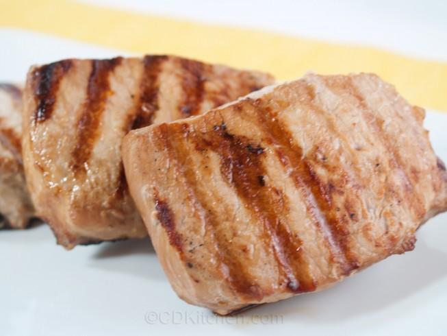 Beer and Sugar Glazed Pork Chops Recipe