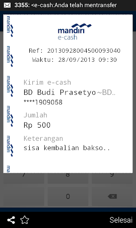 mandiri e-cash 1.5.2 screenshot 312041