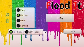 Screenshot of Flood It