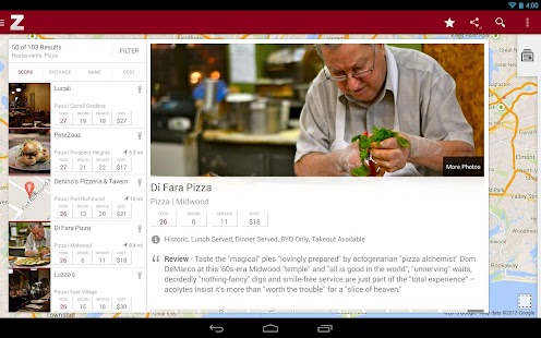 Zagat - screenshot thumbnail