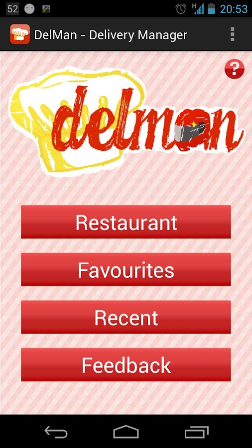 DelMan - Delivery Manager- screenshot