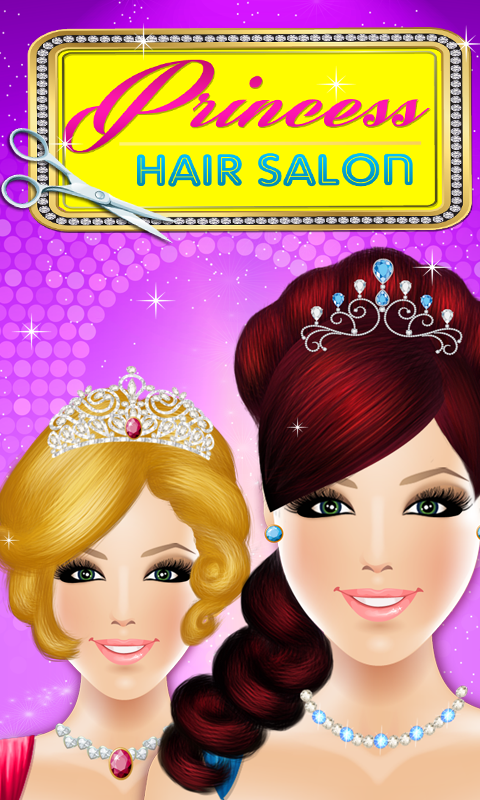 princess hair salon fashion game android apps on
