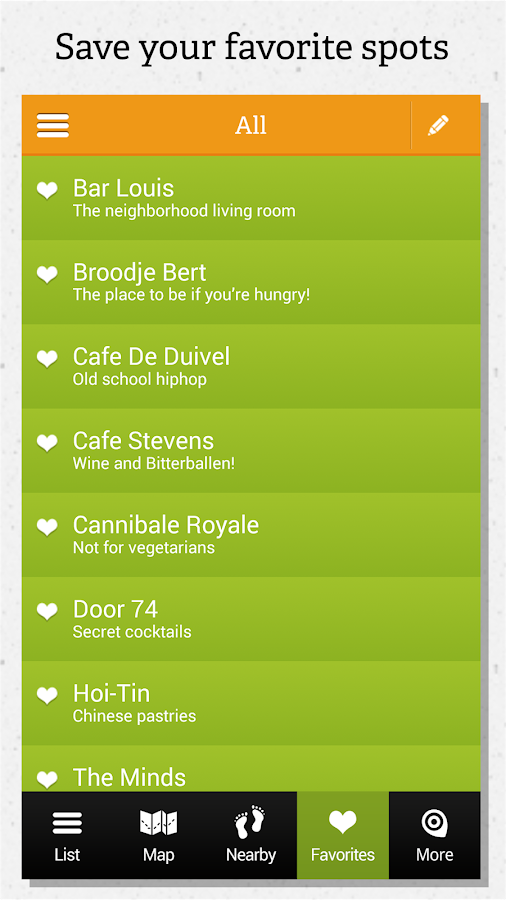 Amsterdam guide by locals- screenshot