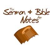 Sermon & Bible Notes App