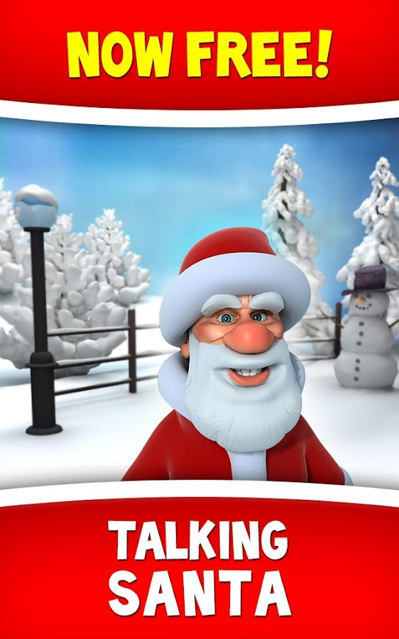 Talking Santa - screenshot