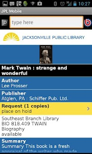 JaxLibrary- screenshot thumbnail