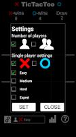 Screenshot of Tic Tac Toe HD
