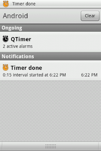 QTimer - screenshot thumbnail