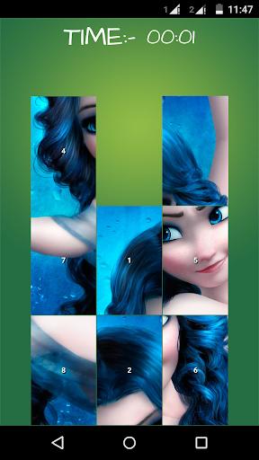 Fairy Elsa: Puzzle