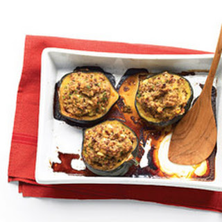 Moroccan-Style Stuffed Acorn Squashes