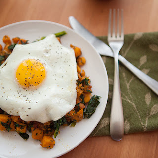 Sweet Potato and Kale Hash.
