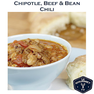 Chipotle Beef and Bean Chili.