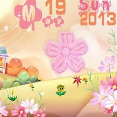 Amazing Cartoon Flowers LWP HD
