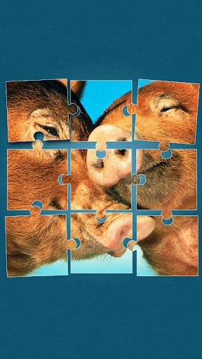 農場動物 ジグソーパズル