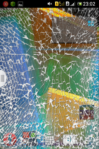 Burst Your Screen Prank - screenshot
