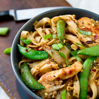 Spicy Chicken Lo Mein Recipes.