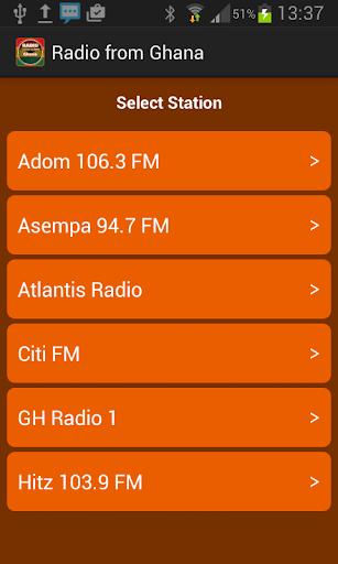 來自加納廣播電台