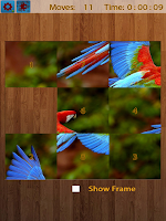 Screenshot of Birds Jigsaw Puzzles Game