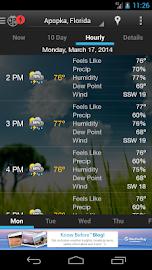 WeatherBug Screenshot 5