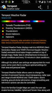 Tempest Weather Radar Free- screenshot thumbnail