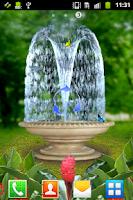 Screenshot of 3D Fountain